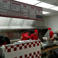 Photo taken at Five Guys by Rob D. on 2/2/2016