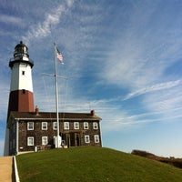 Photo taken at Montauk Point Lighthouse by Jan B. on 10/23/2012
