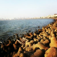 Photo taken at Marine Drive by Aarti G. on 2/17/2013