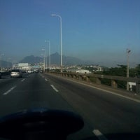 Photo taken at Ponte Rio-Niterói by Mauricio on 4/26/2013