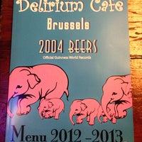 Photo taken at Delirium Café by Let's Go D. on 6/17/2013