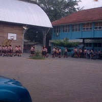 Photo taken at SMP Pangudi Luhur 1 Yogyakarta by Lisbeth S. on 10/18/2013