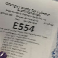 Photo taken at Orange County Tax Collector - Clarcona location by Linda L. on 9/15/2014