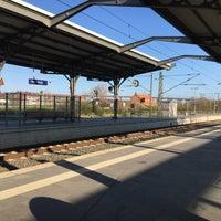 Photo taken at Bahnhof Rendsburg by Malte M. on 4/9/2017