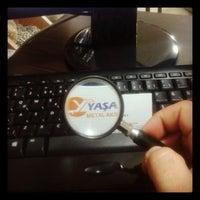 Photo taken at Yaşa TOKA by ozan y. on 10/23/2013