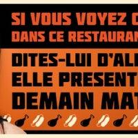 Photo taken at La Régence by Pure FM S. on 9/22/2012
