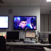 Photo taken at MEA SCADA Control Center Chaengwattana by Dechna R. on 12/17/2014