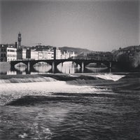 Photo taken at Ponte Vespucci by ffrauss M. on 12/28/2012