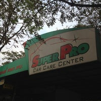 Photo taken at Super Pro Car Care Center by Note N. on 2/23/2013