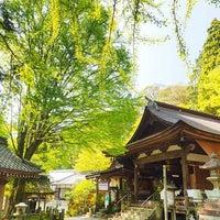 Photo taken at 岩間寺 (岩間山 正法寺) by Atsushi on 4/30/2016
