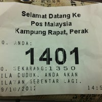 Photo taken at Pos Malaysia by Ylvis beh on 10/29/2012