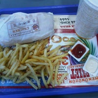Photo taken at Burger King by İsmail Ş. on 10/11/2012