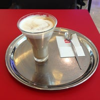 Photo taken at espressamente illy coffee bar by reem on 6/17/2013