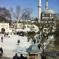 Photo taken at Eyüp Sultan by Adem G. on 2/19/2013