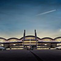 Photo taken at Istanbul Sabiha Gökçen International Airport (SAW) by İstanbul Sabiha Gökçen Uluslararası Havalimanı (SAW) on 8/18/2014