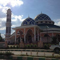 Photo taken at Masjid Agung As-Salam by Jonvic S. on 8/11/2013