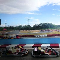 Photo taken at Kart Track by 3rdy A. on 2/16/2014