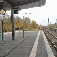 Photo taken at Bahnhof Bremerhaven-Lehe by Kai-Peter G. on 11/10/2012