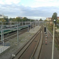Photo taken at Przystanek Most Dworcowy by Piotr P. on 10/8/2012