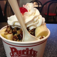 Photo taken at Purity Ice Cream by Amanda A. on 2/22/2013