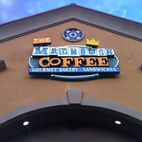 Photo taken at The MadHouse Coffee by Maria L. on 3/30/2013