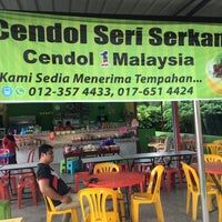 Photo taken at Cendol Seri Serkam by Hidayah H. on 5/10/2017