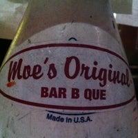 Photo taken at Moe's Original BBQ by Chris R. on 3/31/2013