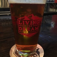Photo taken at Living The Dream Brewing by Chris R. on 1/14/2018