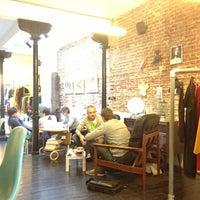 Photo taken at Koko Coffee & Design by Senem B. on 12/2/2012