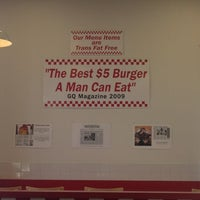 Photo taken at Five Guys by Mike on 10/19/2012