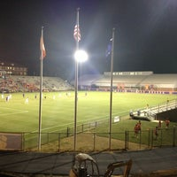 Photo taken at Historic Riggs Field by Liza C. on 9/18/2013
