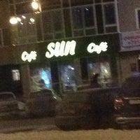 Photo taken at Sun caffe by Ivan Pilyulkin on 12/7/2012