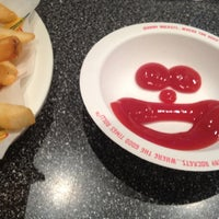 Photo taken at Johnny Rockets by Mohammed on 10/23/2012