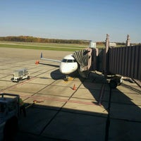 Photo taken at Capital Region International Airport (LAN) by Stephanie C. on 10/8/2012