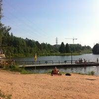 Снимок сделан в Pikkukosken uimaranta пользователем Annastiina 8/8/2013