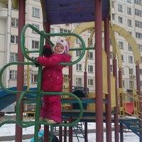 Photo taken at Детская площадка by Vitaliy S. on 12/2/2012