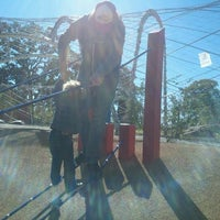 Photo taken at Woodland Discovery Playground @ Shelby Farms by Hannah S. on 10/29/2012