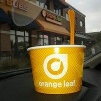 Photo taken at Orange Leaf by Joe Z. on 9/28/2013