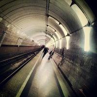 Photo taken at metro Chkalovskaya by обердизайнфюрер on 10/1/2012