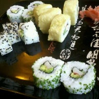 Photo taken at Bonsai Sushi Delivery by Carlos G. on 10/30/2012