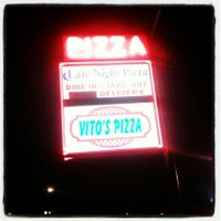 Photo taken at Vito's Pizza by Billdozer on 2/26/2013