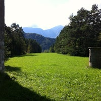 Photo taken at Pista Ciclabile by Cesare on 9/16/2012