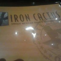 Photo taken at Iron Cactus Mexican Restaurant, Grill and Margarita Bar by Eric H. on 10/13/2012