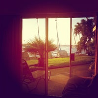 Photo taken at Bahia Resort Hotel - San Diego by Eric O. on 9/29/2012