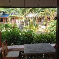 Photo taken at Lanta New Beach Bungalows by Oriol P. on 2/26/2013