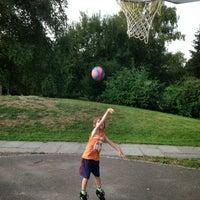 Photo taken at Basketballplatz Ämtler by Alan G. on 8/22/2013