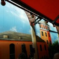 Das Foto wurde bei Trattoria Cafe Tresoli von Claudia am 5/23/2015 aufgenommen