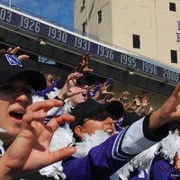 Photo taken at Ryan Field by Northwestern University Bands on 10/20/2012