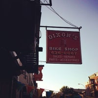 Photo taken at Dixon's Bike Shop by Nathan G. on 9/6/2013