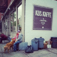 Photo taken at Kos Kaffe Roasting House by Nathan G. on 5/11/2013